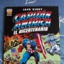 Cómics: CAPITAN AMERICA EL BICENTENARIO JACK KIRBY, FORUM, PLANETA AÑO 2000. Lote 34610273