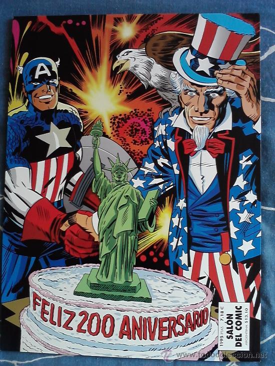 Cómics: CAPITAN AMERICA EL BICENTENARIO JACK KIRBY, FORUM, PLANETA AÑO 2000 - Foto 2 - 34610273