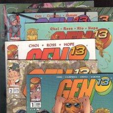 Cómics: GEN 13 VOL 2 - LOTE DE 14 EJEMPLARES ( Nº 1 AL 13 Y 15, -IMAGE. Lote 34611452
