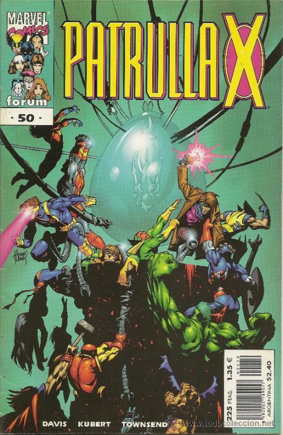 PATRULLA X VOL 2. NUMEROS 1 AL 82 + 4 SUELTOS. FALTAN 31 DE LOS ULTIMOS PARA SER COMPLETA. (Tebeos y Comics - Forum - Patrulla X)