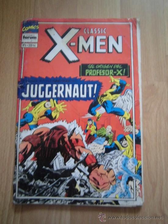 X-MEN CLASSIC Nº 6 EL ORIGEN DEL PROFESOR -X CON EL POSTER STAR TREK (Tebeos y Comics - Forum - X-Men)