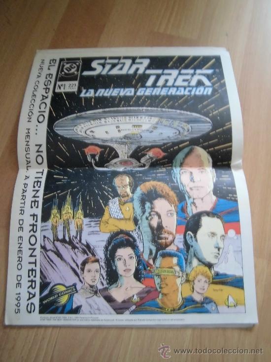 Cómics: X-MEN CLASSIC Nº 6 EL ORIGEN DEL PROFESOR -X CON EL POSTER STAR TREK - Foto 3 - 34701186