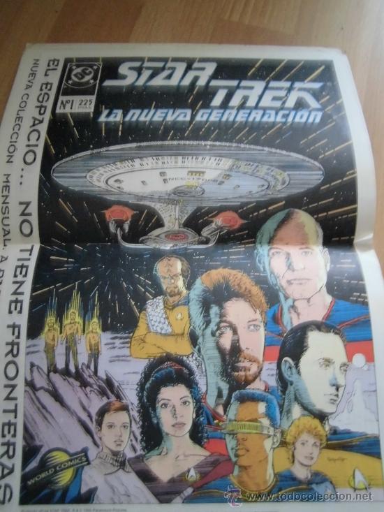 Cómics: X-MEN CLASSIC Nº 6 EL ORIGEN DEL PROFESOR -X CON EL POSTER STAR TREK - Foto 4 - 34701186