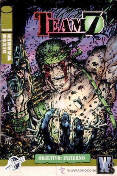 TEAM 7 - OBJETIVO: INFIERNO (Tebeos y Comics - Forum - Prestiges y Tomos)