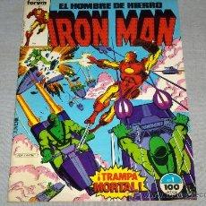 Cómics: FORUM VOL. 1 IRON MAN HOMBRE HIERRO Nº 1. 1985. 100 PTS. TRAMPA MORTAL.. Lote 34723435