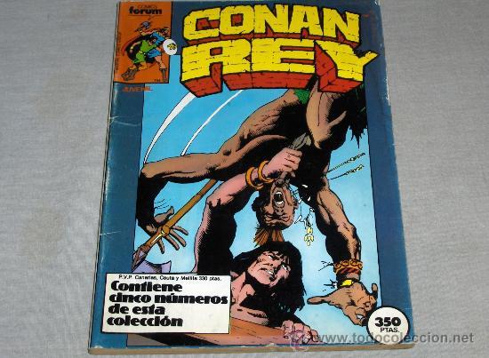 FORUM RETAPADO CONAN REY NºS 31 AL 35. 350 PTS. 1987. (Tebeos y Comics - Forum - Retapados)