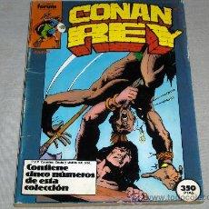 Cómics: FORUM RETAPADO CONAN REY NºS 31 AL 35. 350 PTS. 1987.. Lote 34723880