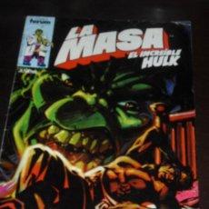 Cómics: LA MASA Nº 31. VOL. 1. EL INCREIBLE HULK. COMICS FORUM.. Lote 34843209