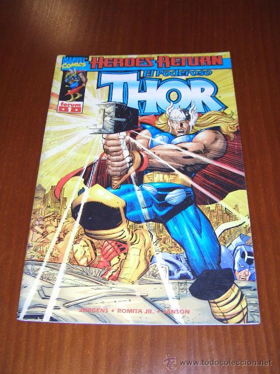 THOR VOL. 4 - Nº 1 - JURGENS - JOHN ROMITA JR. - COMICS FORUM (Tebeos y Comics - Forum - Thor)