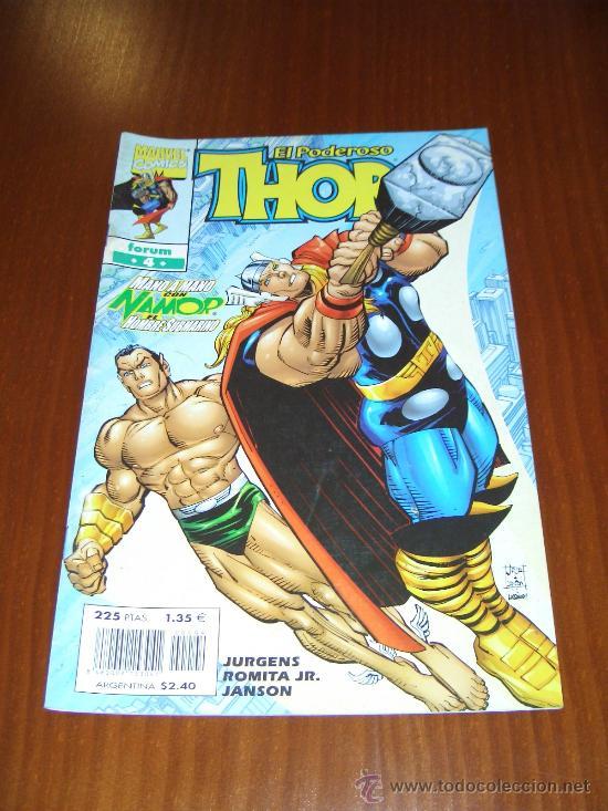 THOR VOL. 4 - Nº 4 - JURGENS - JOHN ROMITA JR. - COMICS FORUM (Tebeos y Comics - Forum - Thor)