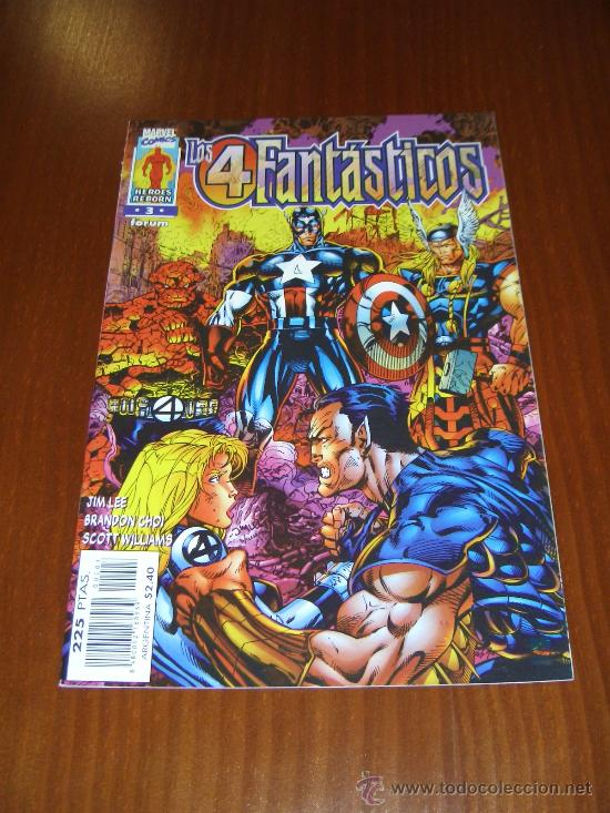 LOS 4 FANTÁSTICOS VOL. 2 - Nº 3 - HEROES REBORN - JIM LEE (Tebeos y Comics - Forum - 4 Fantásticos)