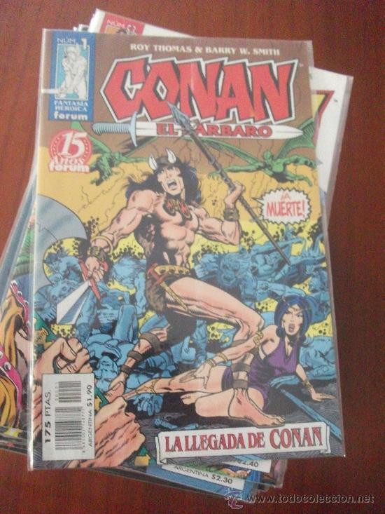 CONAN EL BARBARO 2º EDICION COMPLETA COMICS FORUM (Tebeos y Comics - Forum - Conan)