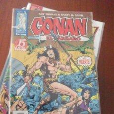 Cómics: CONAN EL BARBARO 2º EDICION COMPLETA COMICS FORUM. Lote 34906612