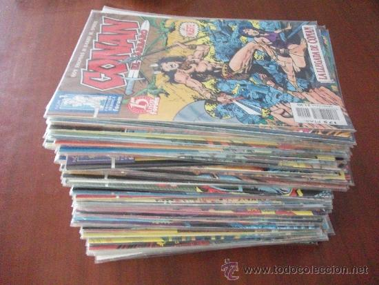 Cómics: CONAN EL BARBARO 2º EDICION COMPLETA COMICS FORUM - Foto 2 - 34906612