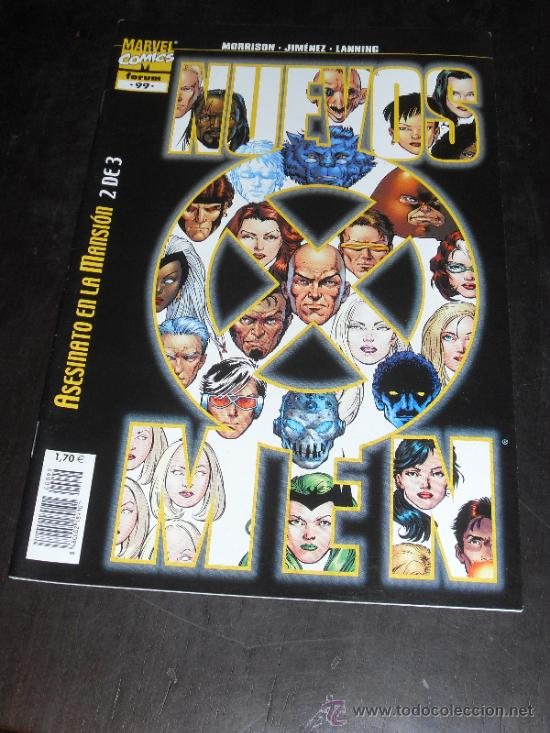 NUEVOS X-MEN Nº 99. VOL. 2. MARVEL COMICS. FORUM. (Tebeos y Comics - Forum - X-Men)