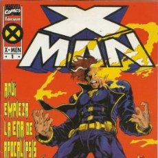 Cómics: X MAN. MINISERIE DE 4 NUMEROS. (LA ERA DE APOCALIPSIS) . Lote 34985233