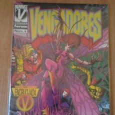 Cómics: VENGADORES Nº 6 - FORUM. Lote 34988946