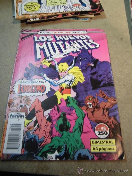 LOS NUEVOS MUTANTES Nº 48 BIMESTRAL FORUM 1989 (Tebeos y Comics - Forum - Nuevos Mutantes)