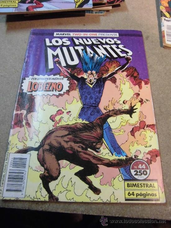 LOS NUEVOS MUTANTES Nº 44 BIMESTRAL FORUM 1988 (Tebeos y Comics - Forum - Nuevos Mutantes)