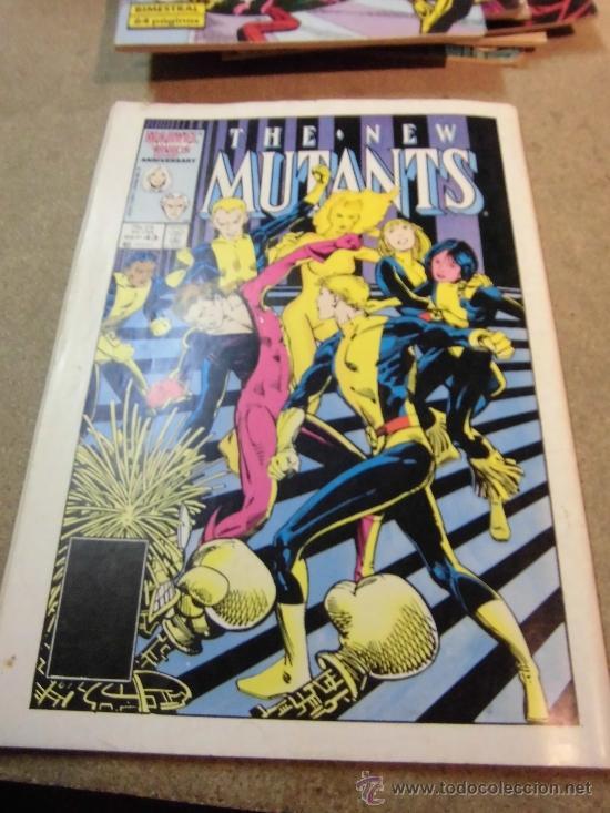 Cómics: LOS NUEVOS MUTANTES Nº 44 BIMESTRAL FORUM 1988 - Foto 4 - 35134075