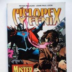 Cómics: CICLOPE Y FENIX EL ORIGEN DE MISTER SINIESTRO . ONE SHOT . PETER MILIGAN. Lote 35205074