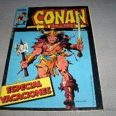 Cómics: CONAN EL BÁRBARO ESPECIAL VACACIONES 1986. FORUM VOL. 1. 200 PTS. .. Lote 35236770