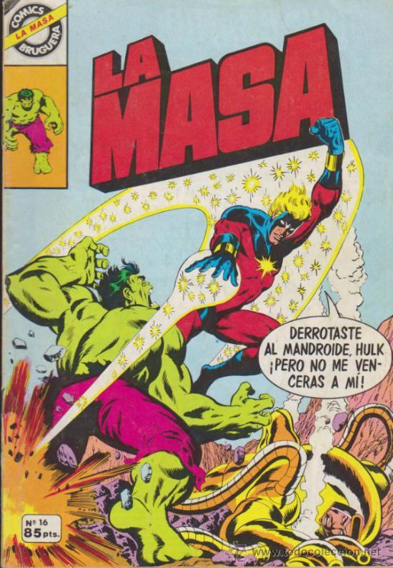 LA MASA Nº 16. BRUGUERA. (Tebeos y Comics - Forum - Hulk)