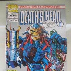 Cómics: DEATHS HEAD II. Nº 1 AL 7. MARVEL UK. FORUM. Lote 35421553