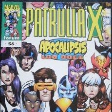 Cómics: PATRULLA X Nº 56 VOL. II ALAN DAVIS & ROGER CRUZ & TERRY KAVANAGH CÓMICS FORUM - MARVEL CÓMICS. Lote 35444590