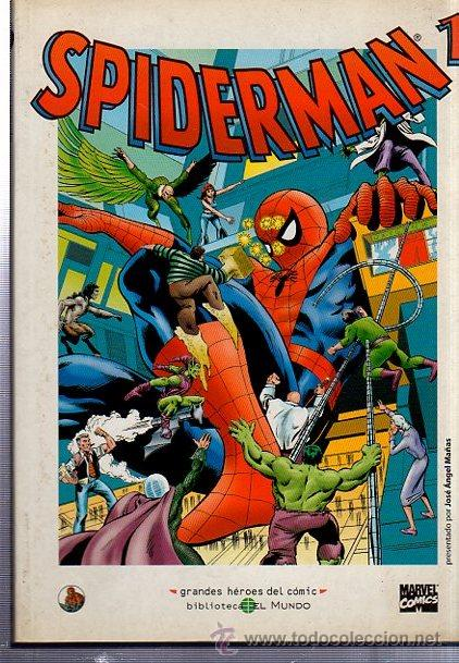 SPIDERMAN 1, GRANDES HÉROES DEL COMIC, BIBLIOTECA EL MUNDO (Tebeos y Comics - Forum - Spiderman)