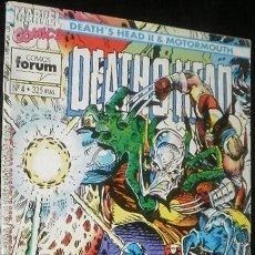Cómics: DEATH'S HEAD Nº 4 DAN ABNETT & LIAM SHARP COMICS FORUM & MARVEL COMICS. Lote 35725169