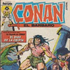 Cómics: CONAN. FORUM 1983. LOTE DE 102 EJEMPLARES ENTRE EL 1 Y 213.. Lote 54563429