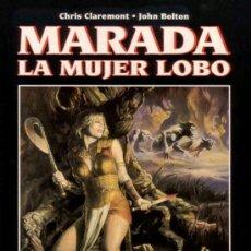 Cómics: MARADA LA MUJER LOBO - NOVELA GRAFICA # 20 (FORUM,1995) - CHRIS CLAREMONT - JOHN BOLTON. Lote 35837191