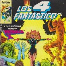 Cómics: LOS 4 FANTÁSTICOS. FORUM 1983. LOTE DE 28 ENTRE EL 58 Y 128.. Lote 35837881