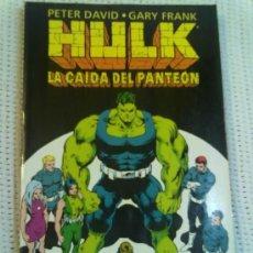 Cómics: HULK -LA CAIDA DEL PANTEÓN-. Lote 35918591