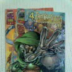 Cómics: LOS 4 FANTASTICOS -HEROES REBORN- NºS 5 Y 7 (MIRAR FOTOS). Lote 35918690