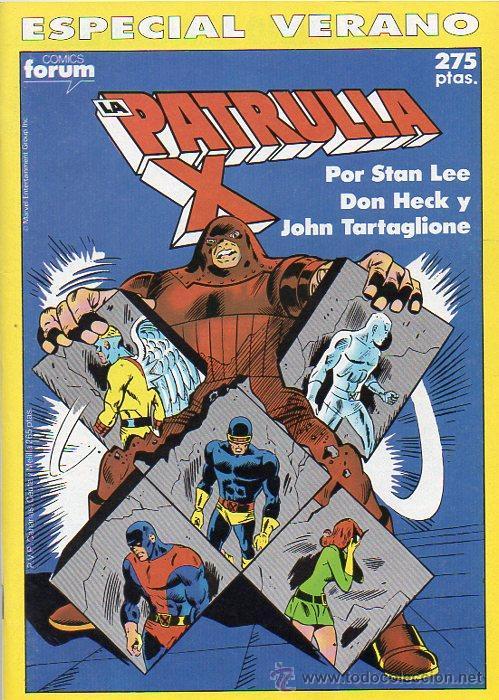 ESPECIAL VERANO '90 LA PATRULLA X - FORUM - MARVEL (Tebeos y Comics - Forum - Patrulla X)