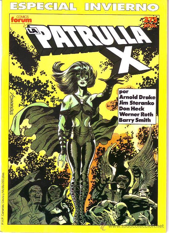 PATRULLA X -ESPECIAL INVIERNO 1990 (Tebeos y Comics - Forum - Patrulla X)