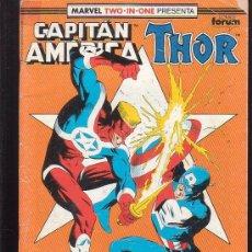 Cómics: CAPITAN AMERICA & THOR Nº 67 ( 1ª FORUM ). Lote 38333403