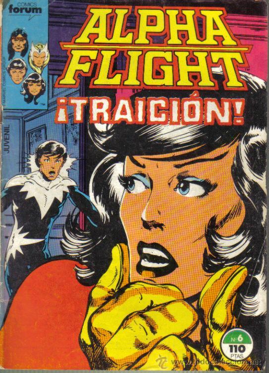 ALFHA FLIGHT Nº 6. (Tebeos y Comics - Forum - Alpha Flight)