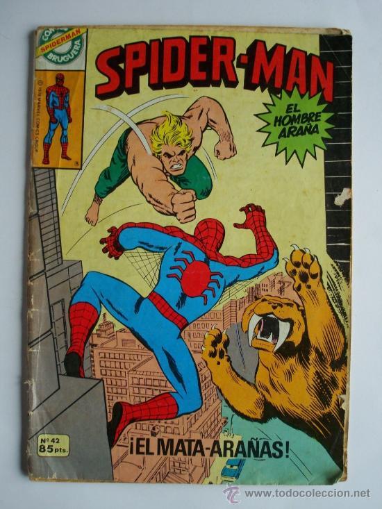 SPIDERMAN Nº 42 - BRUGUERA (MARVEL) (Tebeos y Comics - Forum - Spiderman)