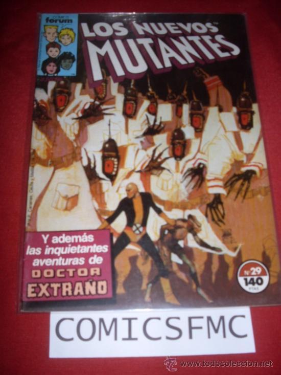 LOS NUEVOS MUTANTES NUMERO 29 BUEN ESTADO REF.14 (Tebeos y Comics - Forum - Nuevos Mutantes)