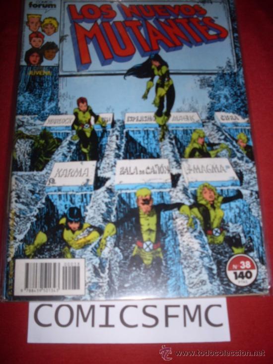 LOS NUEVOS MUTANTES NUMERO 38 BUEN ESTADO REF.14 (Tebeos y Comics - Forum - Nuevos Mutantes)