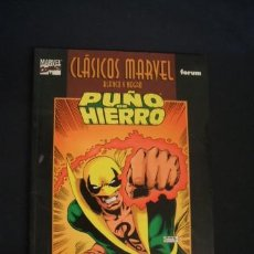 Cómics: CLASICOS MARVEL BLANCO Y NEGRO - PUÑO DE HIERRO - CHRIS CLAREMONT - FORUM - . Lote 36008393