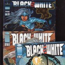 Cómics: BLACK & WHITE -- COLECCIÓN COMPLETA EN 3 NUMEROS -EDITA : FORUM COLECCION IMAGE. Lote 36045759