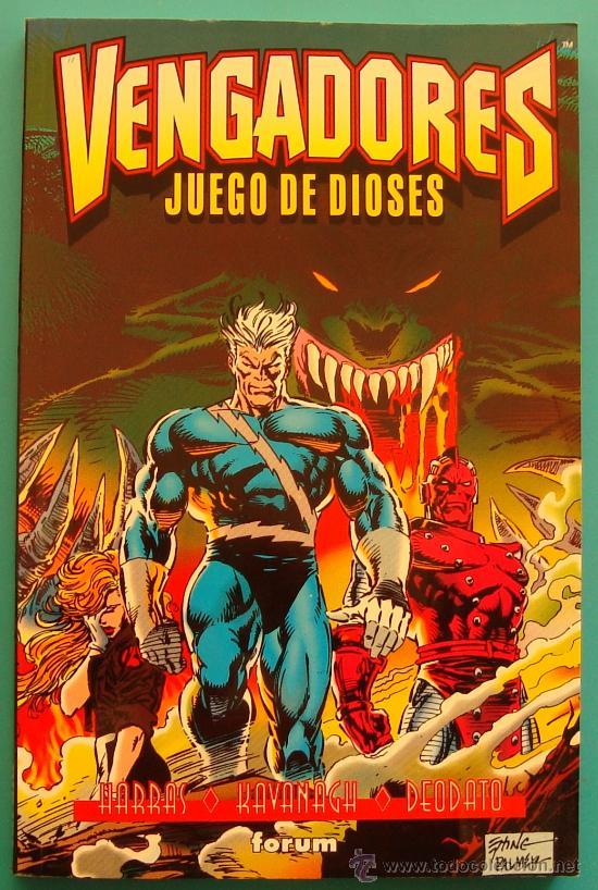 VENGADORES JUEGO DE DIOSES FORUM 1996 MARVEL COMICS, HARRAS KAVANAGH DEODATO (Tebeos y Comics - Forum - Vengadores)