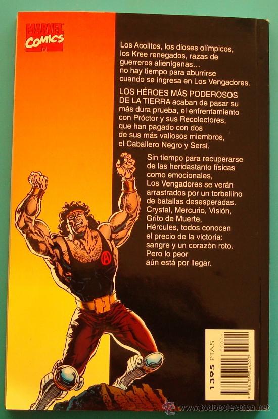 Cómics: VENGADORES JUEGO DE DIOSES FORUM 1996 MARVEL COMICS, HARRAS KAVANAGH DEODATO - Foto 2 - 36046256