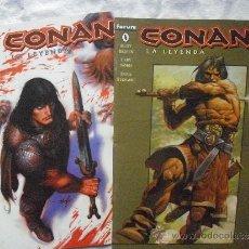 Cómics: CONAN LA LEYENDA NUMEROS 0 Y 1. Lote 57476702