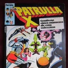 Cómics: LA PATRULLA X RETAPADO CON LOS NUMS. 32, 33, 34, 35 Y 36. VOL. 1. FORUM.. Lote 36379724