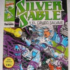 Cómics: SILVER SABLE Y EL GRUPO SALVAJE Nº 6 -ULTIMO NUMERO- COMICS FORUM. Lote 36442863